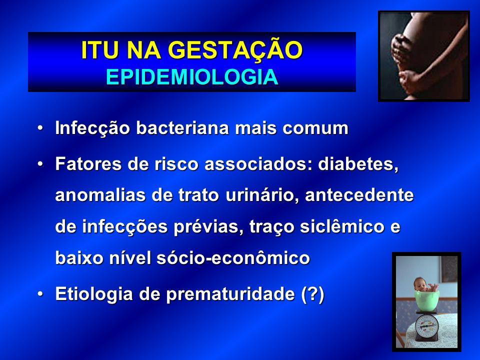 ITU NA GESTAÇÃO EPIDEMIOLOGIA