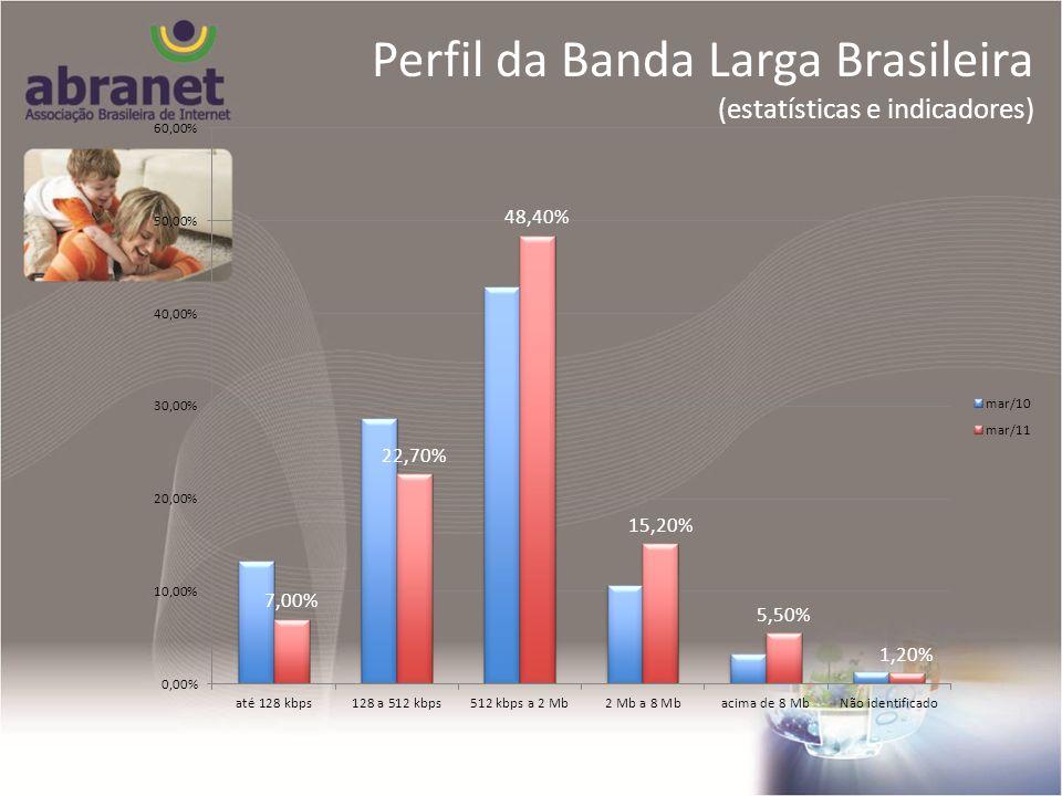 Perfil da Banda Larga Brasileira (estatísticas e indicadores)