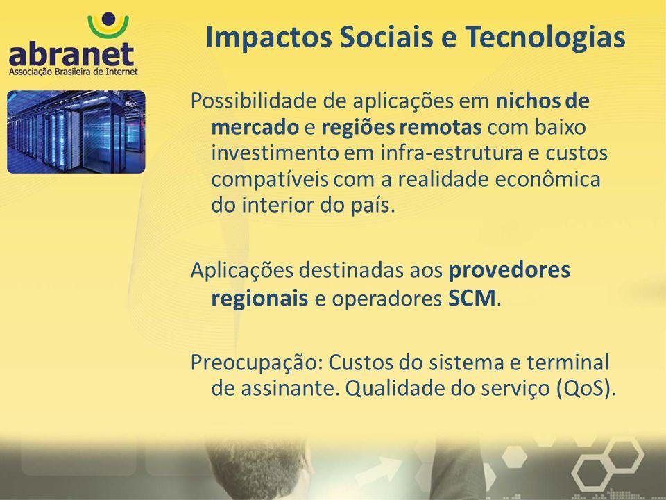 Impactos Sociais e Tecnologias