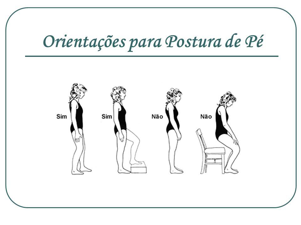 Orientações para Postura de Pé