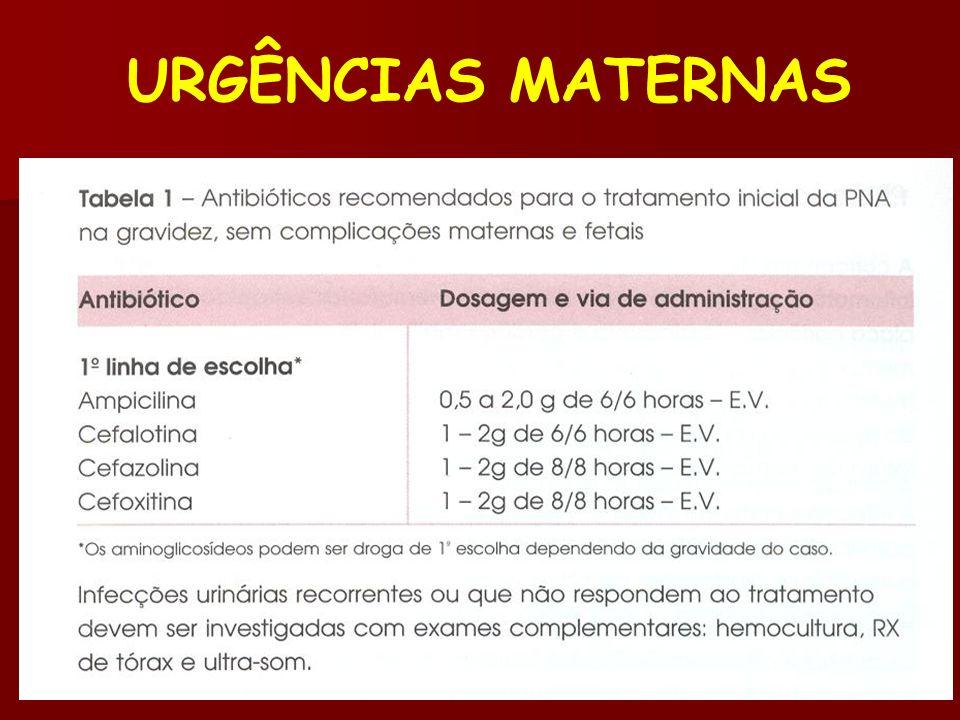 URGÊNCIAS MATERNAS