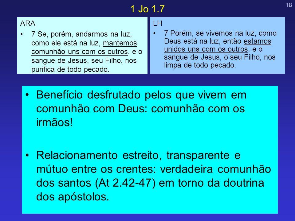 1 Jo 1.7 ARA.