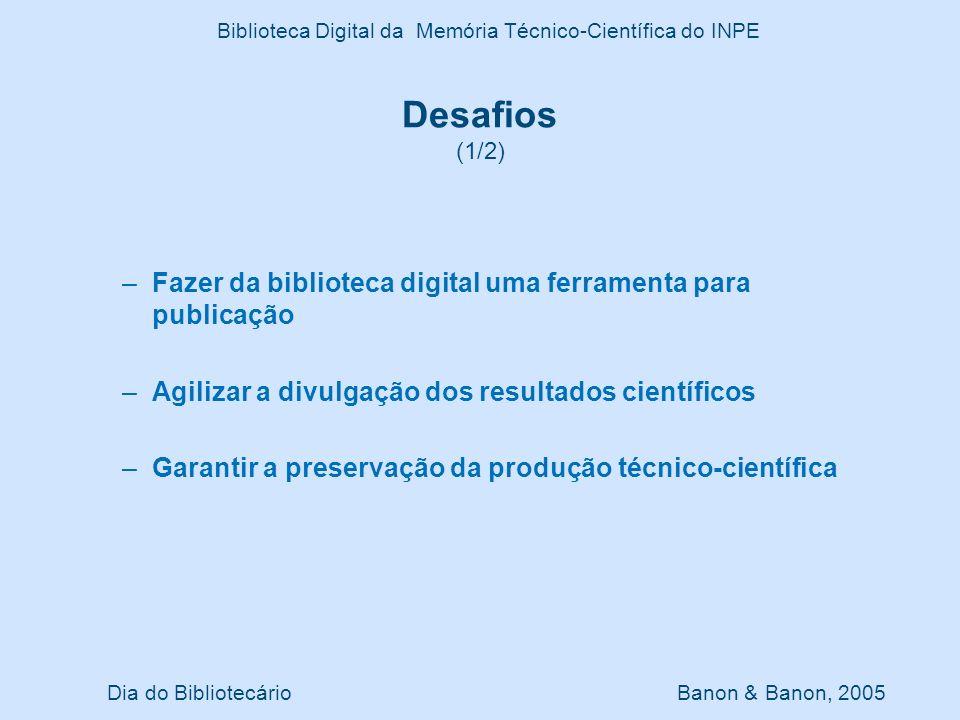 Biblioteca Digital da Memória Técnico-Científica do INPE