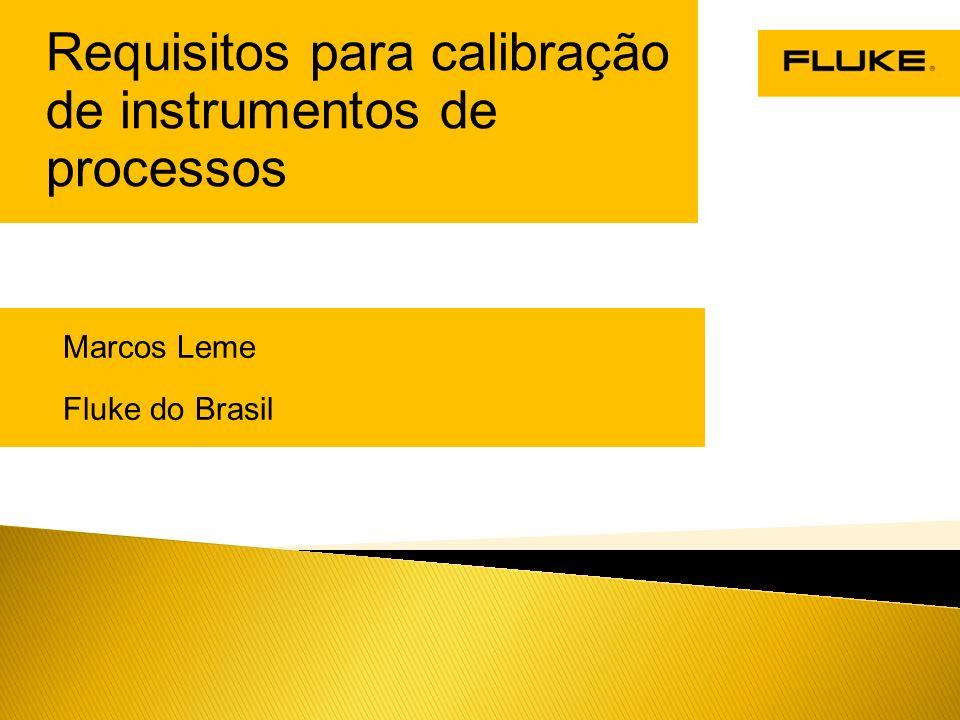 Requisitos para calibração de instrumentos de processos
