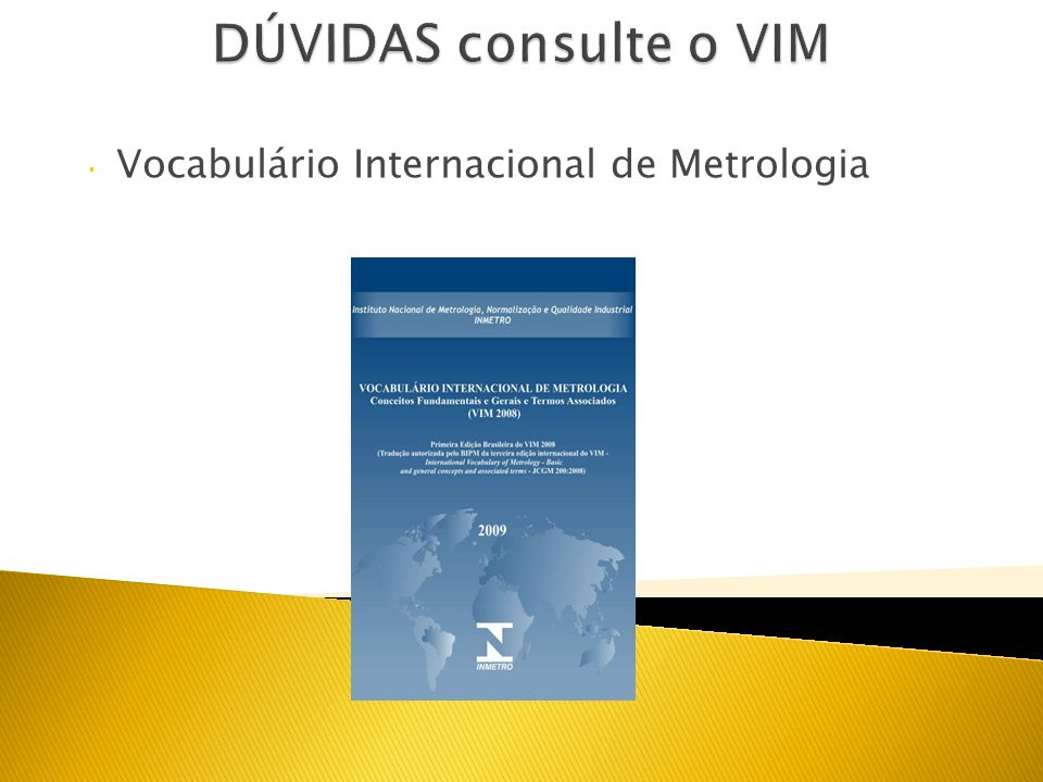 Vocabulário Internacional de Metrologia