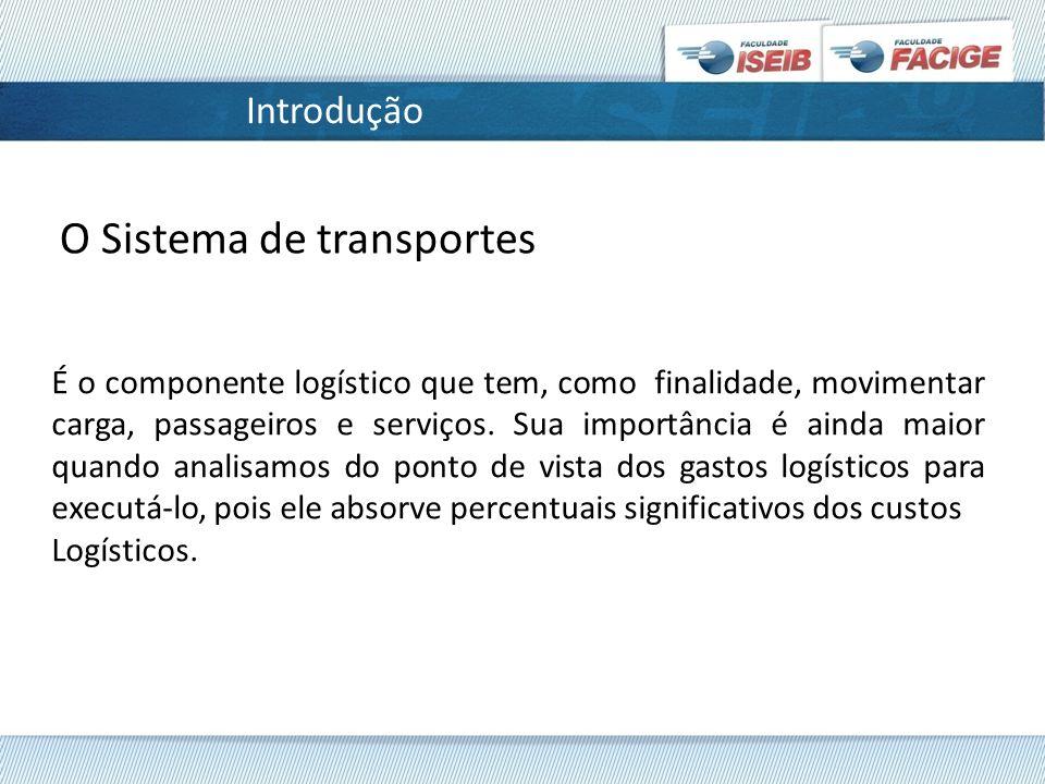 O Sistema de transportes