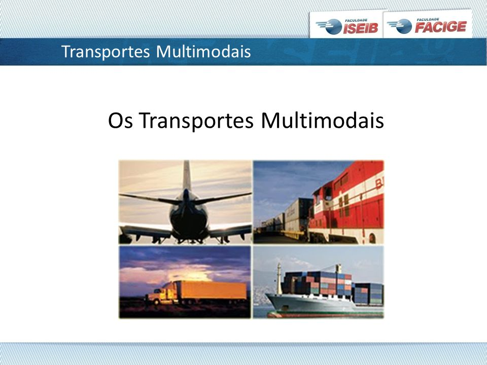 Transportes Multimodais