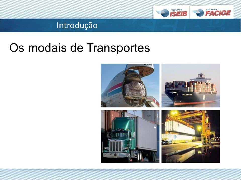 Os modais de Transportes