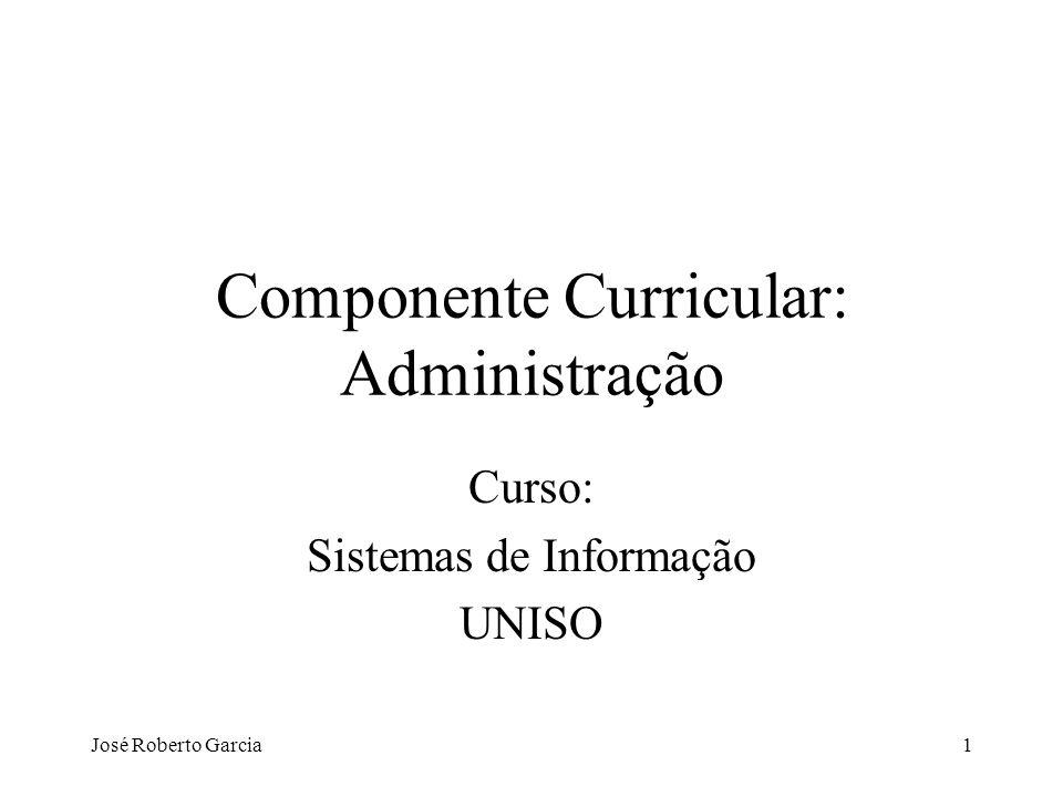 Componente Curricular: Administração
