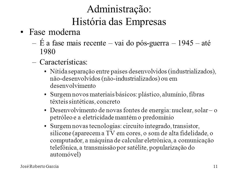 Administração: História das Empresas