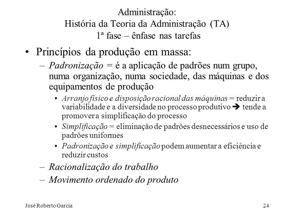 Princípios da produção em massa: