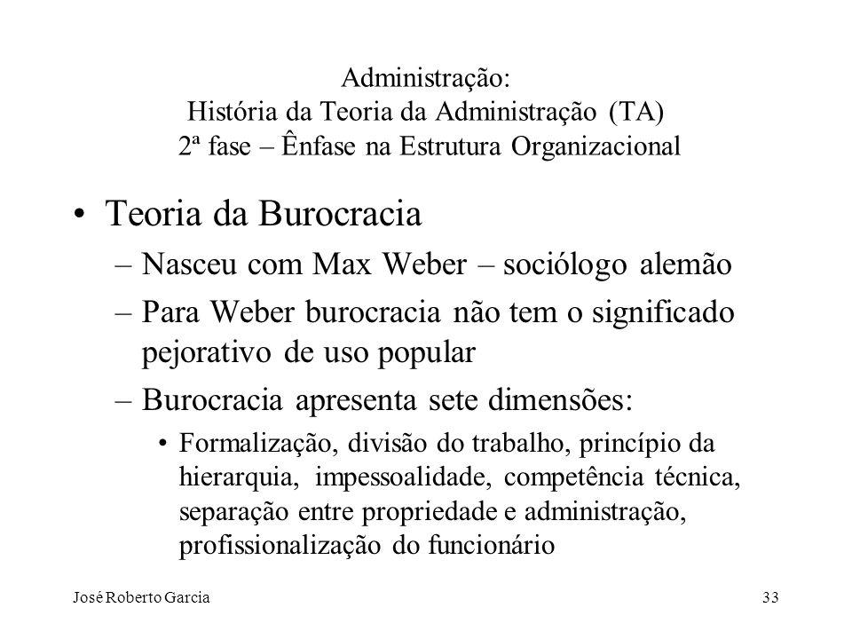 Teoria da Burocracia Nasceu com Max Weber – sociólogo alemão