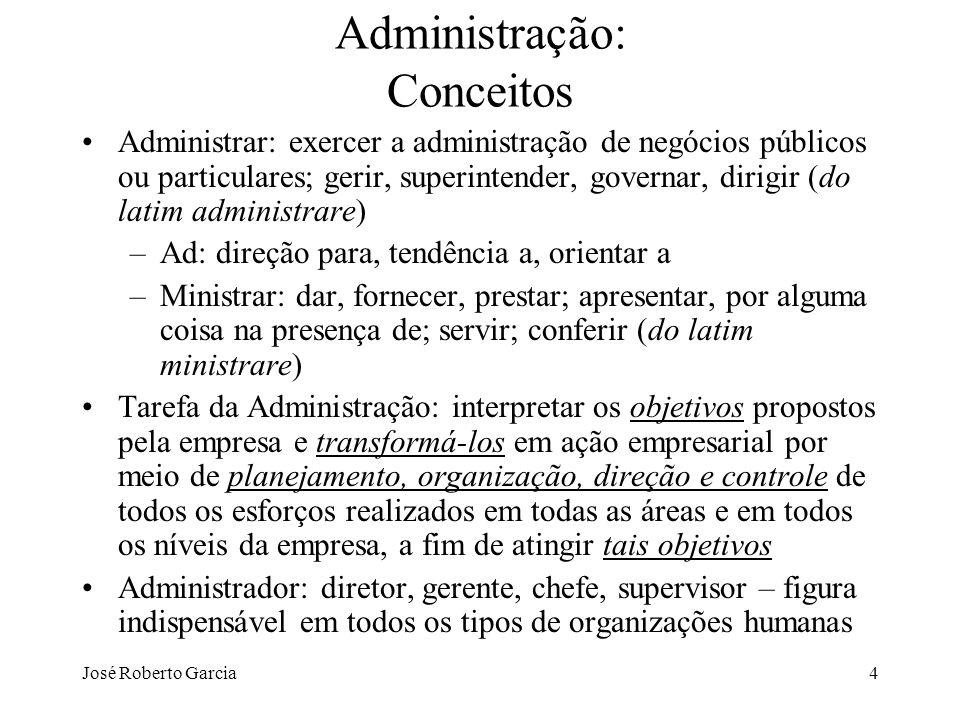 Administração: Conceitos
