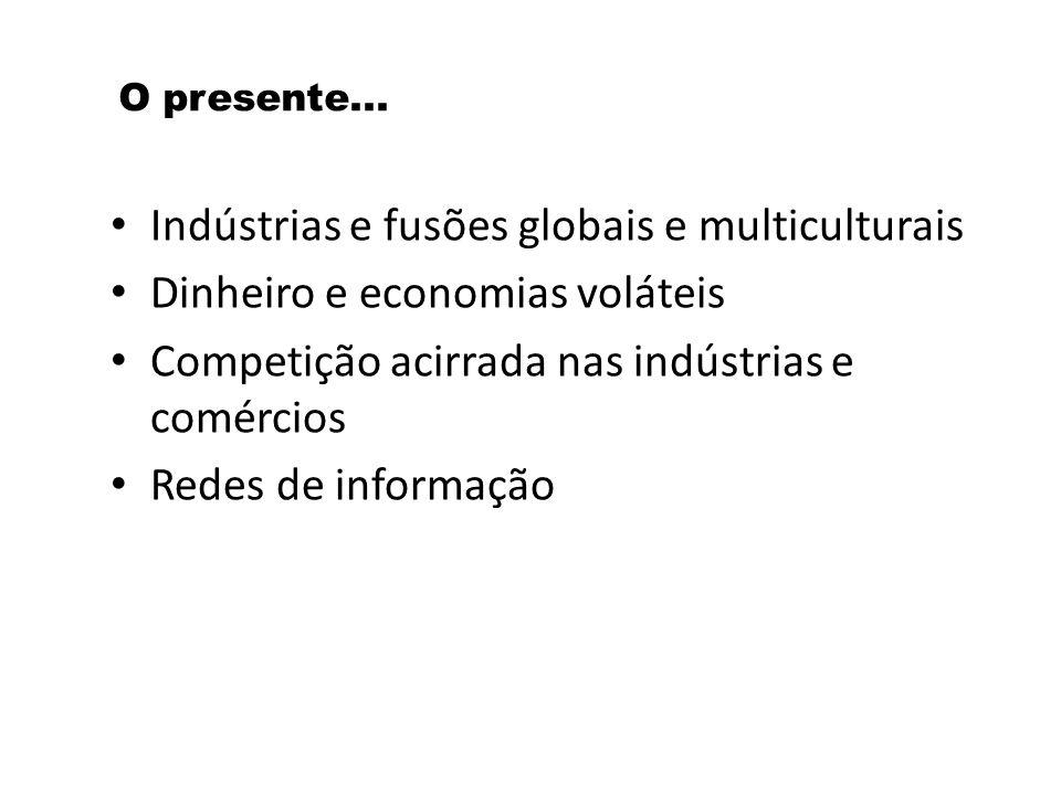 Indústrias e fusões globais e multiculturais