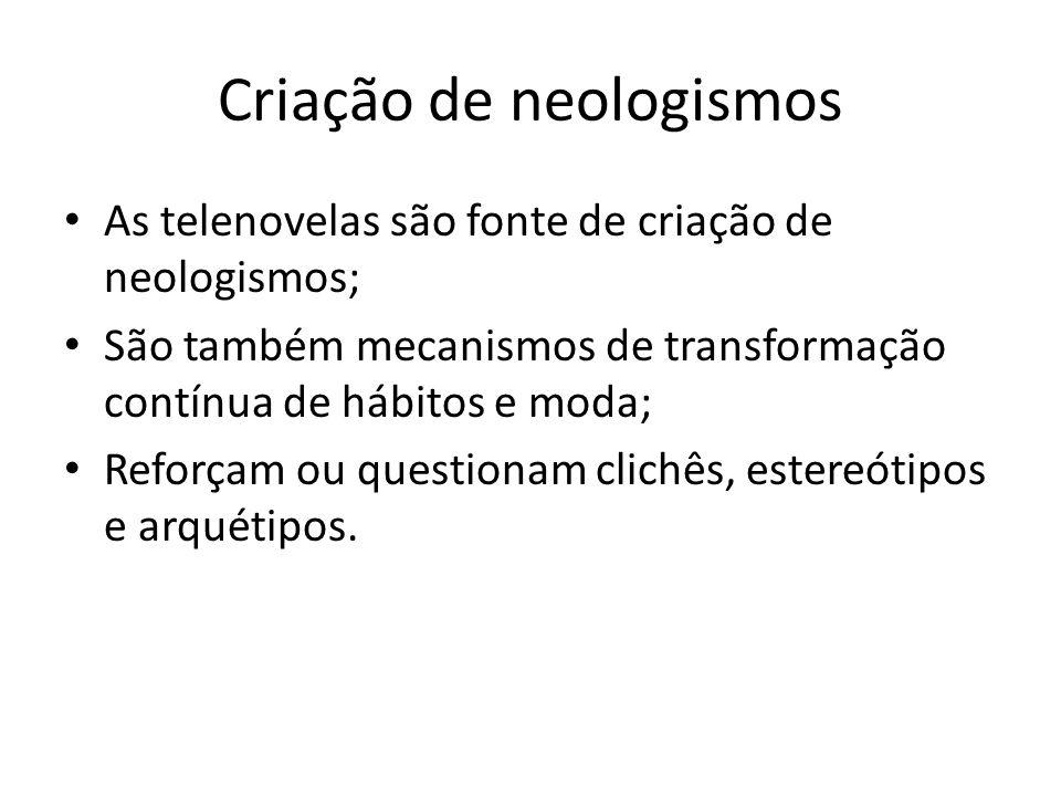 Criação de neologismos