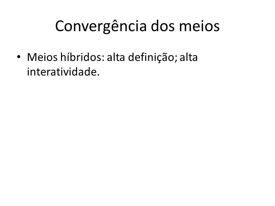 Convergência dos meios