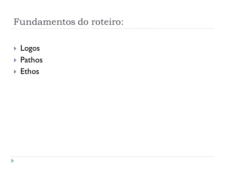 Fundamentos do roteiro: