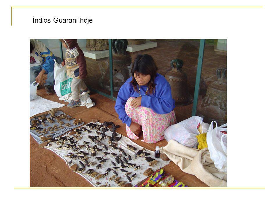 Índios Guarani hoje