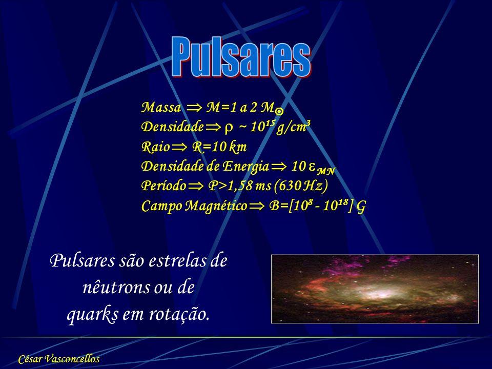 Pulsares são estrelas de