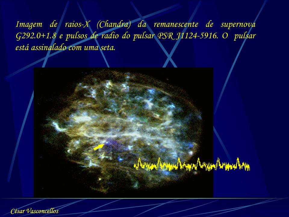 Imagem de raios-X (Chandra) da remanescente de supernova G292. 0+1