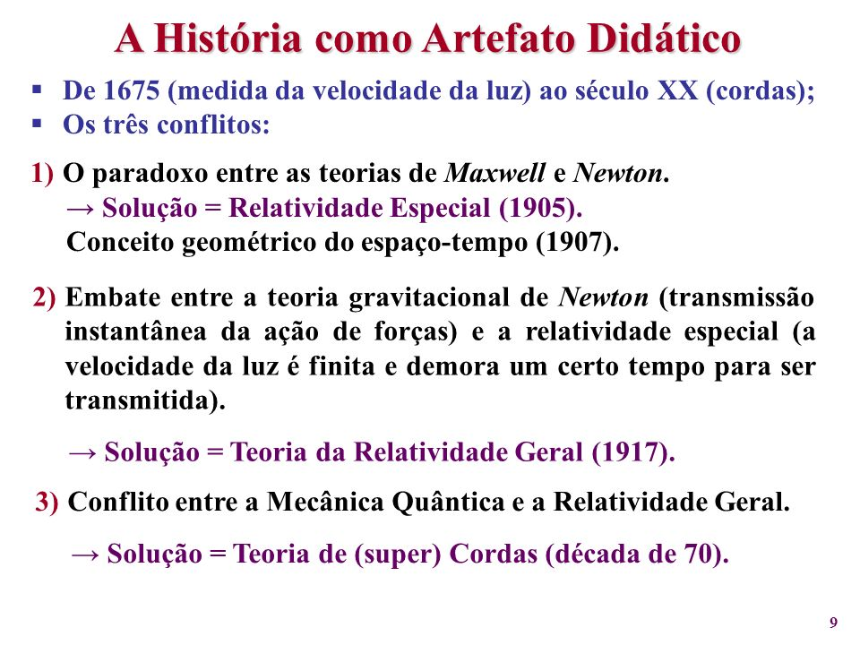 A História como Artefato Didático