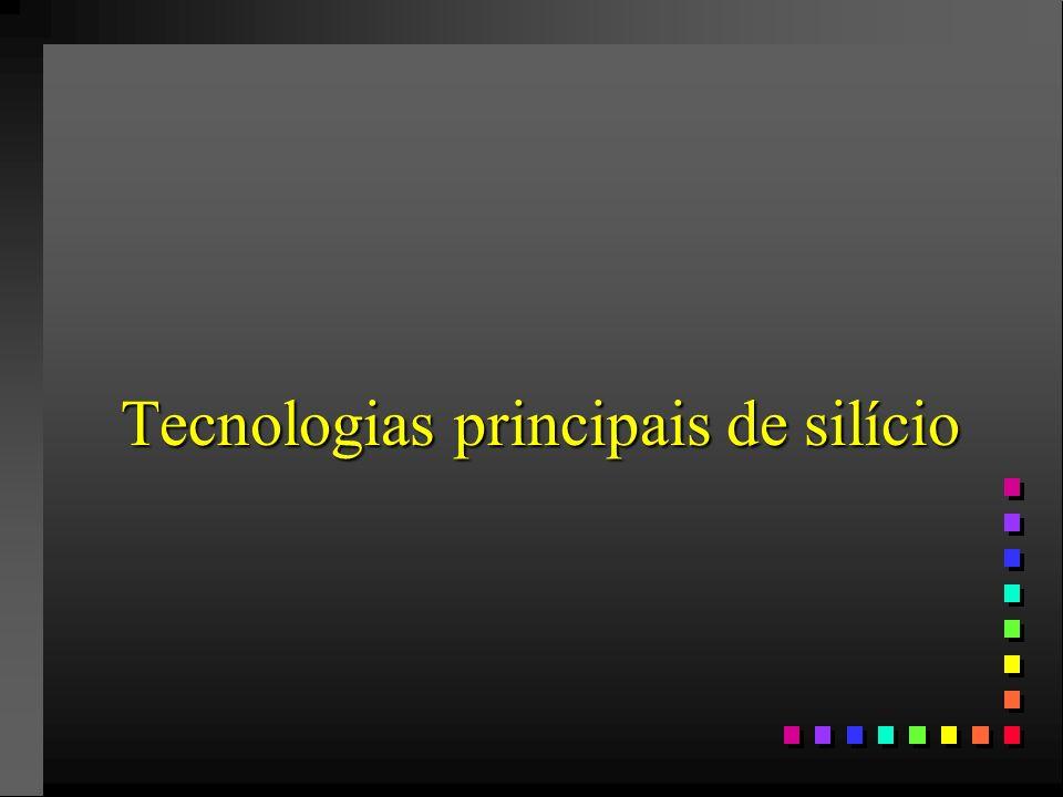 Tecnologias principais de silício