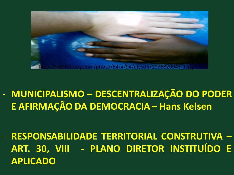 http://sp6.fotolog.com/photo/54/4/94/alyson/1076820943_f.jpg MUNICIPALISMO – DESCENTRALIZAÇÃO DO PODER E AFIRMAÇÃO DA DEMOCRACIA – Hans Kelsen.