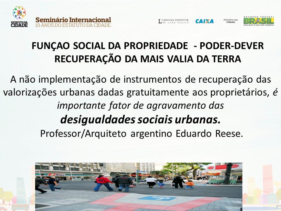 FUNÇAO SOCIAL DA PROPRIEDADE - PODER-DEVER