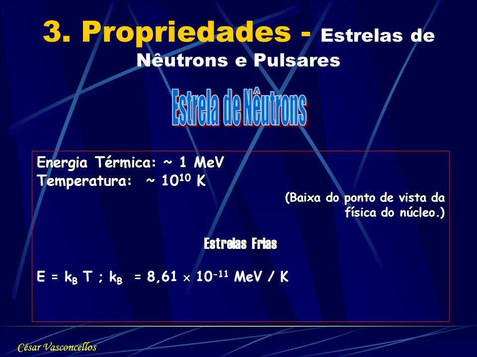 3. Propriedades - Estrelas de Nêutrons e Pulsares