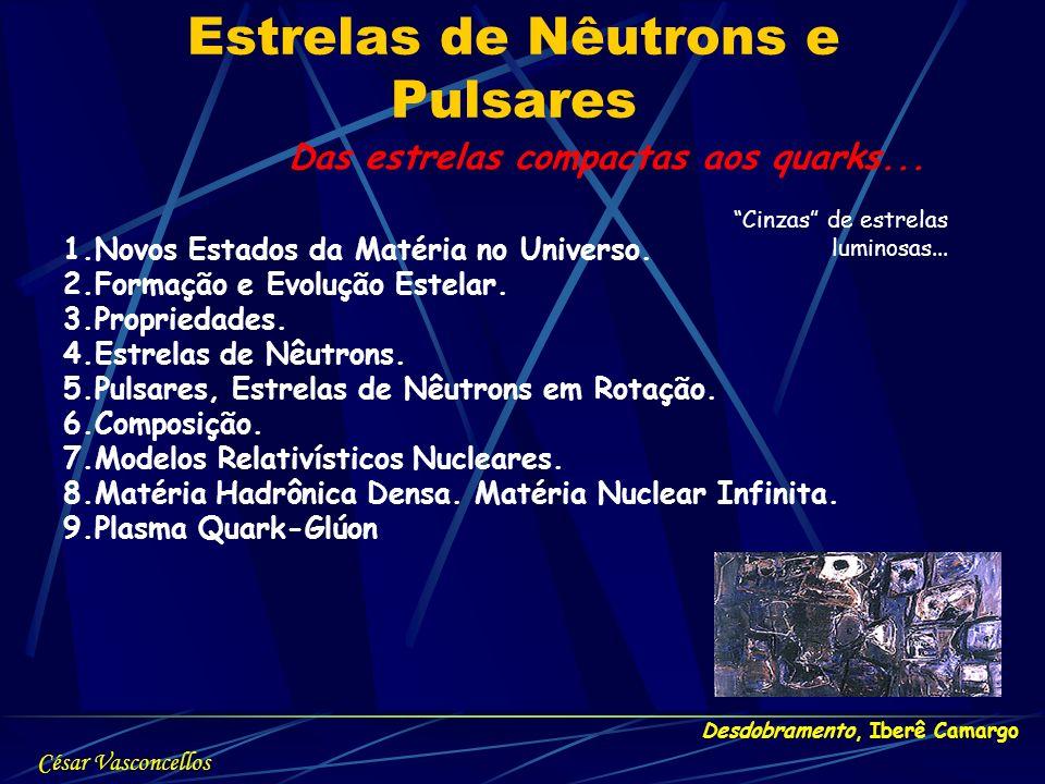 Estrelas de Nêutrons e Pulsares