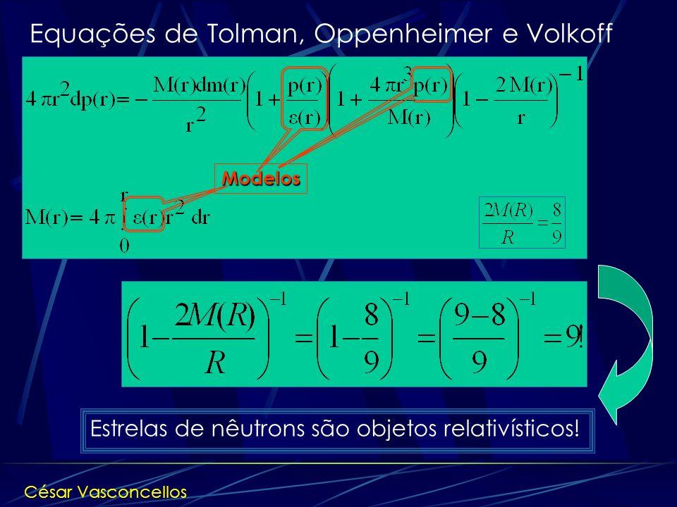 Equações de Tolman, Oppenheimer e Volkoff