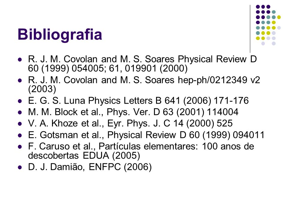Bibliografia Obrigado!!!