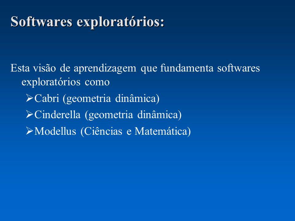 Softwares exploratórios: