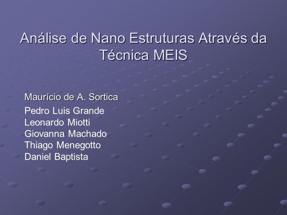 Análise de Nano Estruturas Através da Técnica MEIS