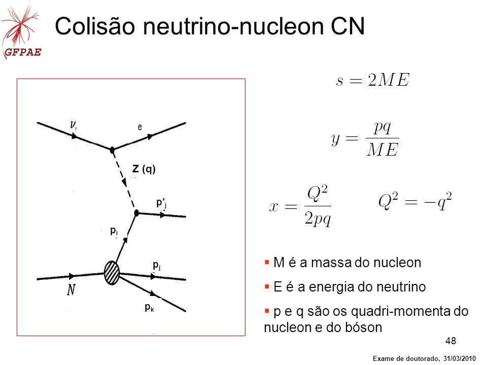 Colisão neutrino-nucleon CN
