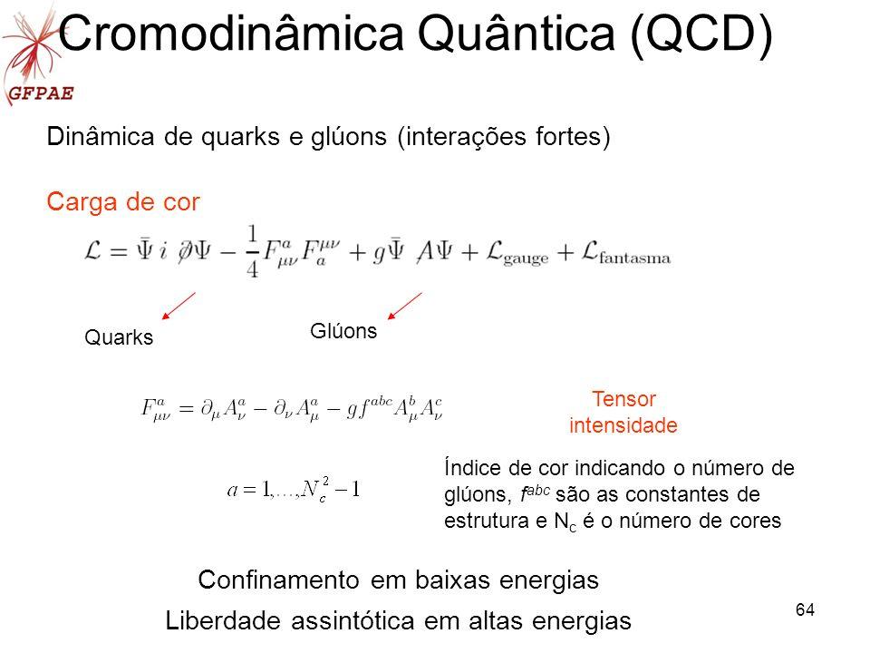 Cromodinâmica Quântica (QCD)