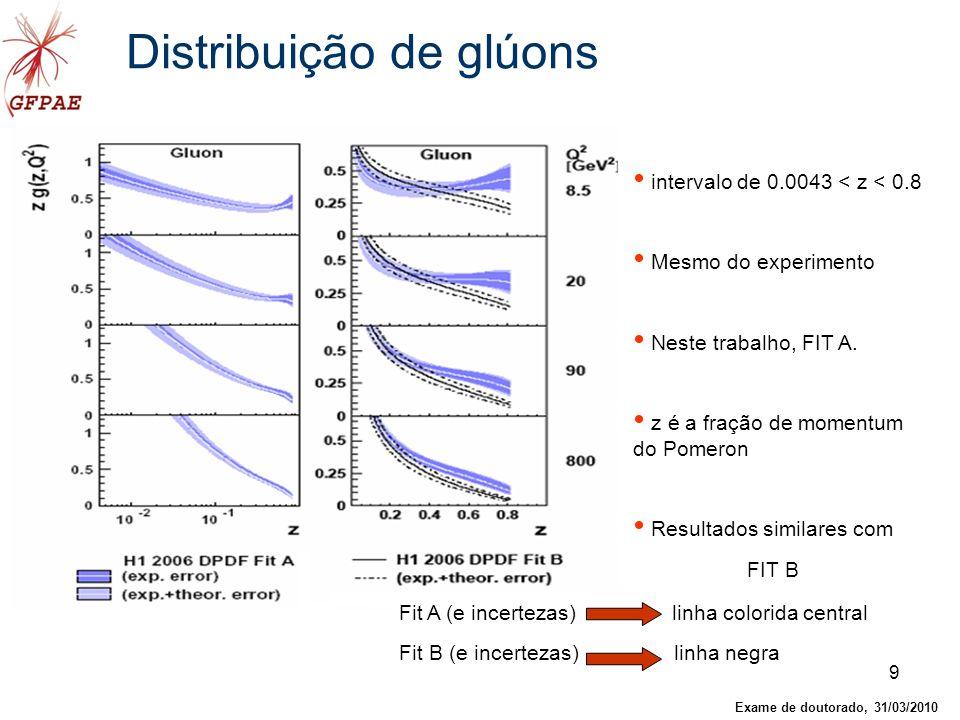 Distribuição de glúons