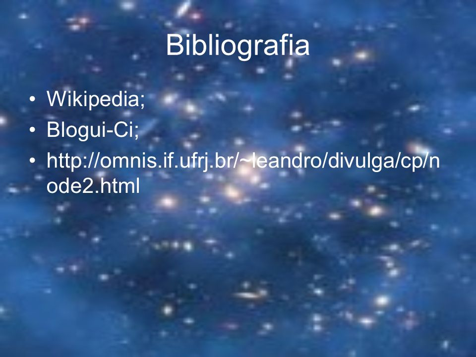 Bibliografia Wikipedia; Blogui-Ci;