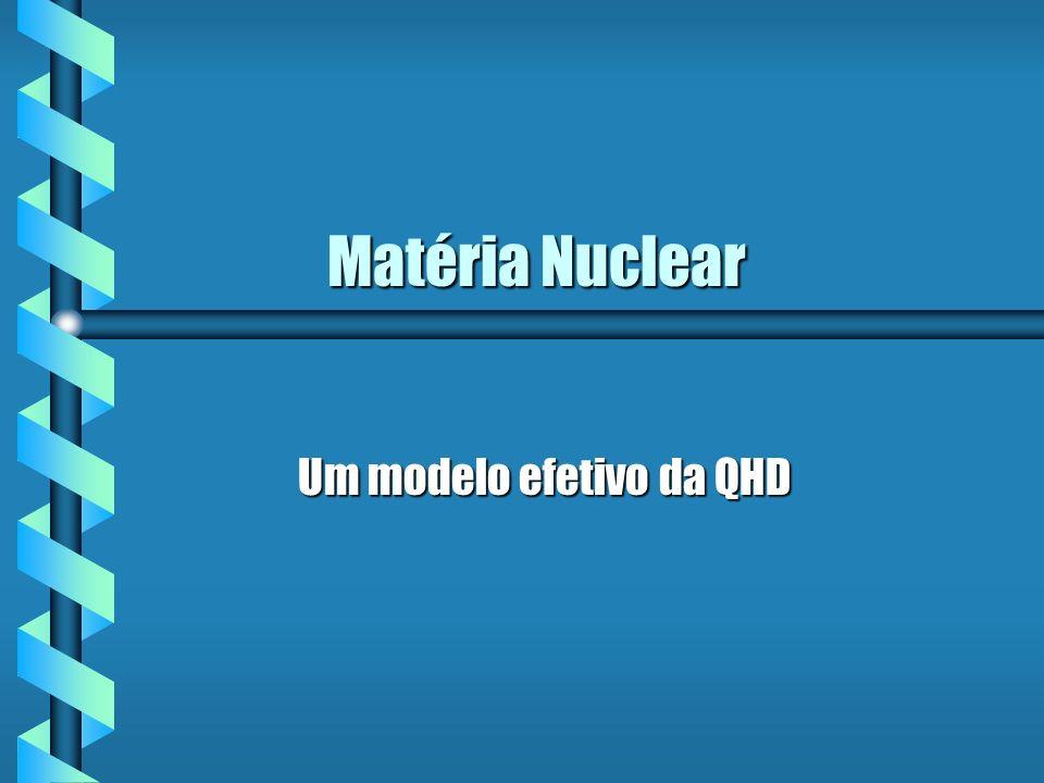 Um modelo efetivo da QHD