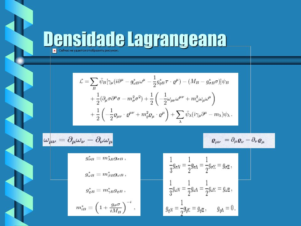 Densidade Lagrangeana