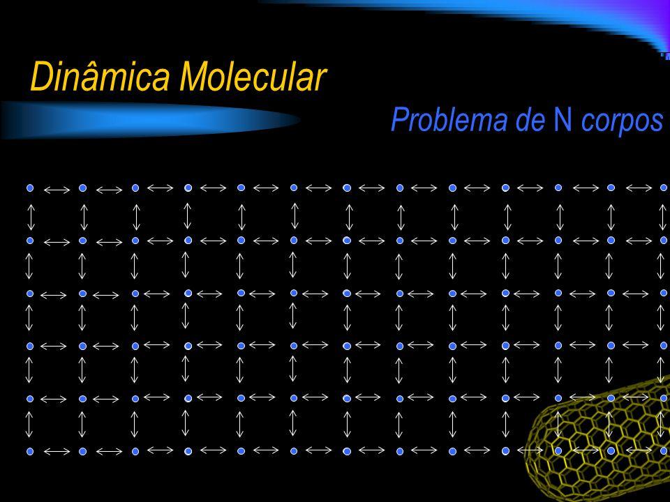 Dinâmica Molecular Problema de N corpos