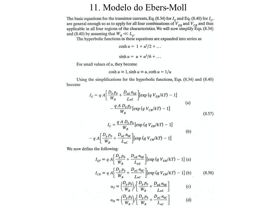 11. Modelo do Ebers-Moll