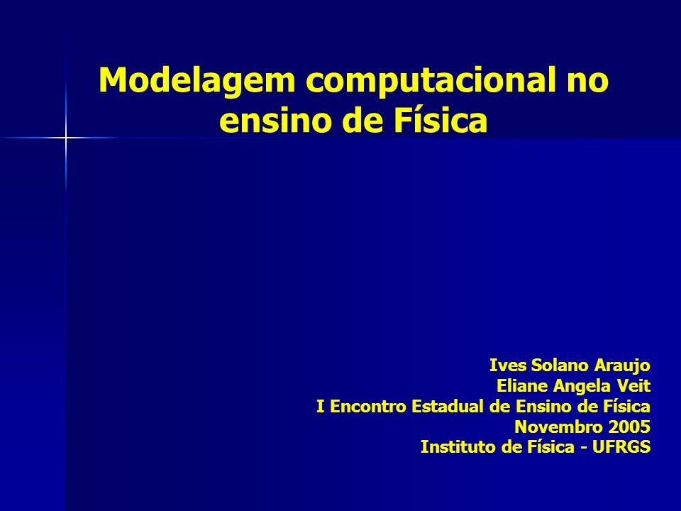 Modelagem computacional no ensino de Física