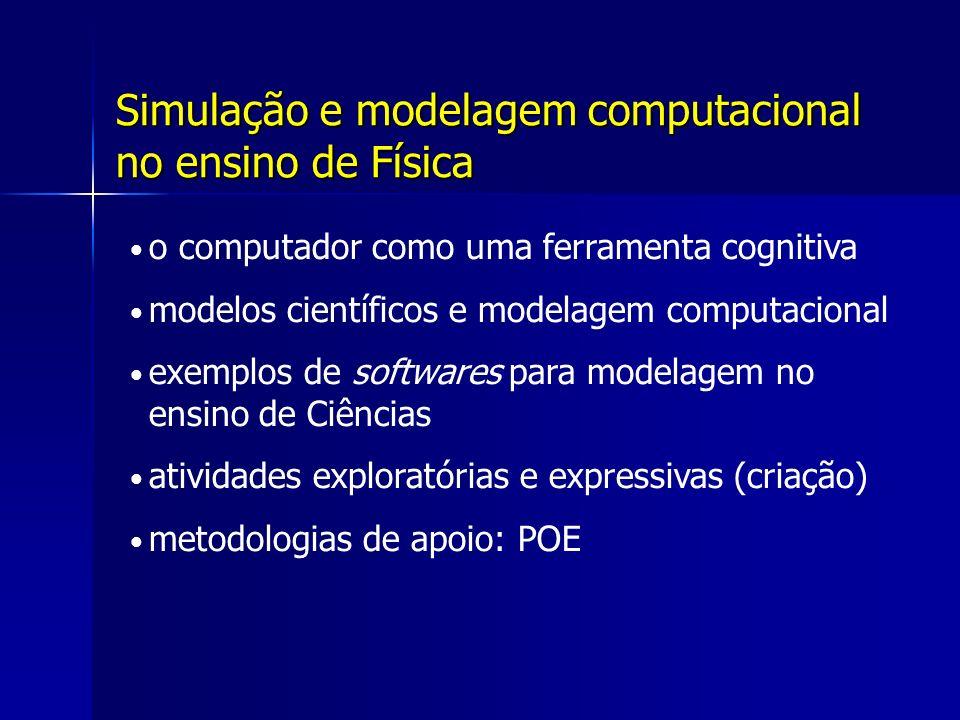 Simulação e modelagem computacional no ensino de Física