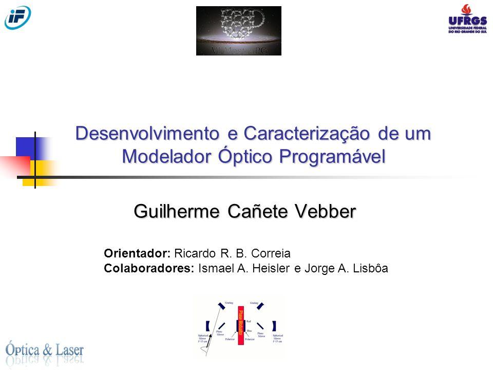 Desenvolvimento e Caracterização de um Modelador Óptico Programável