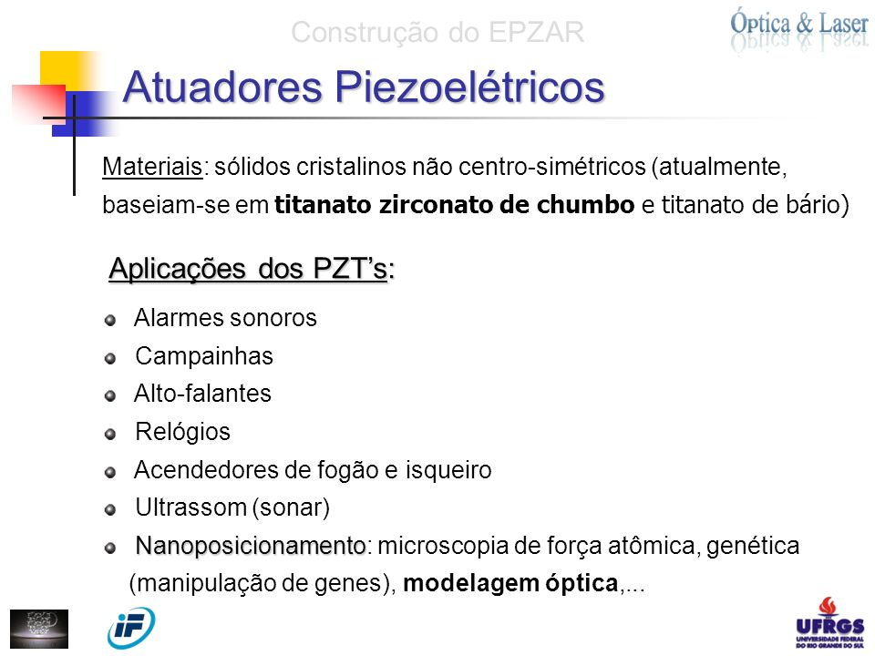 Atuadores Piezoelétricos