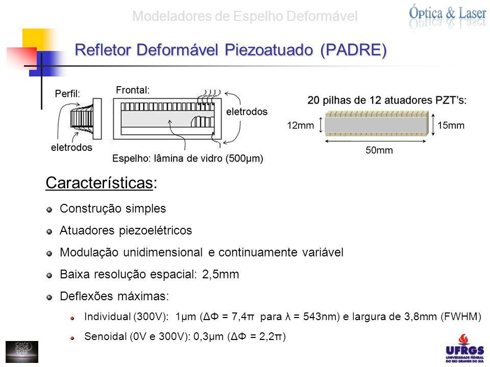 Refletor Deformável Piezoatuado (PADRE)