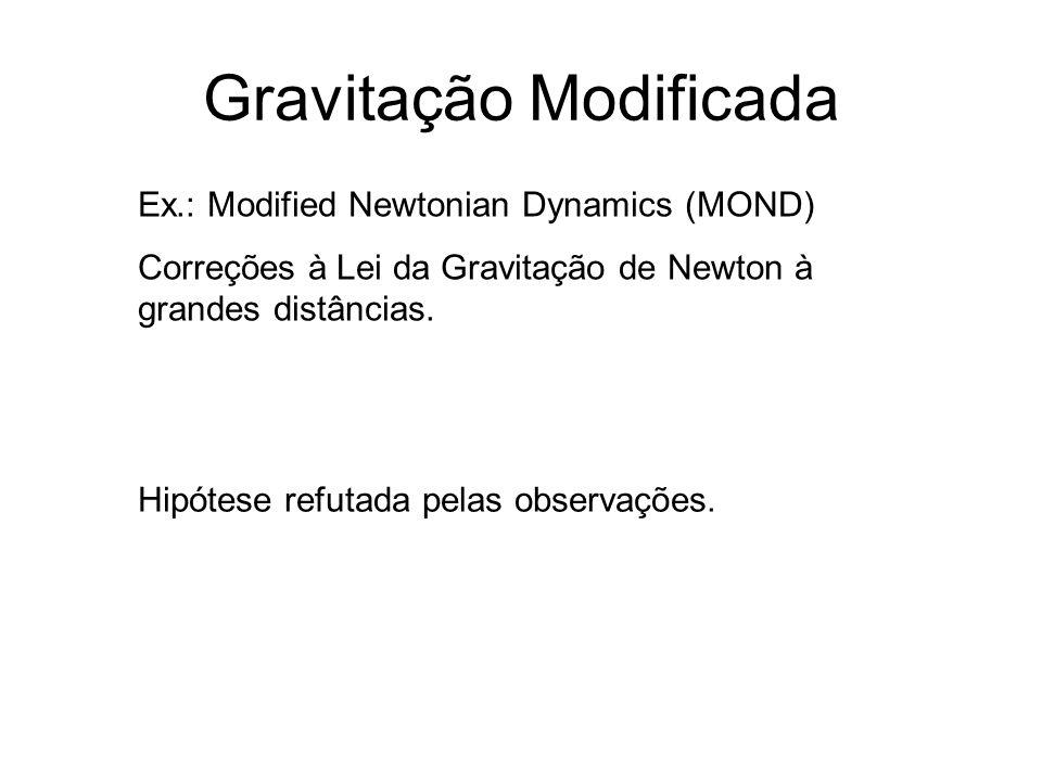 Gravitação Modificada