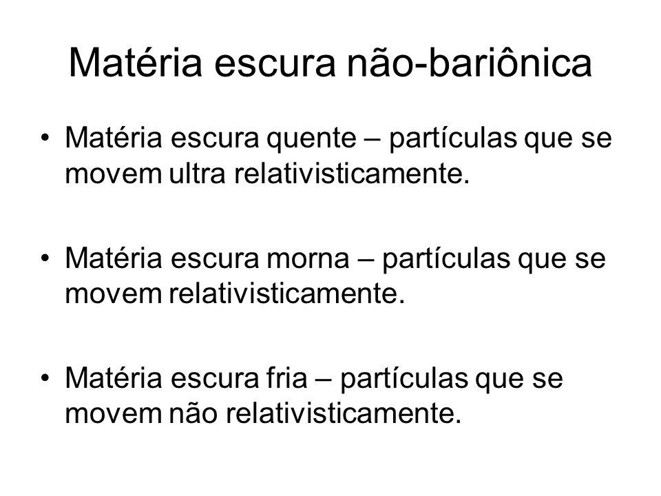 Matéria escura não-bariônica