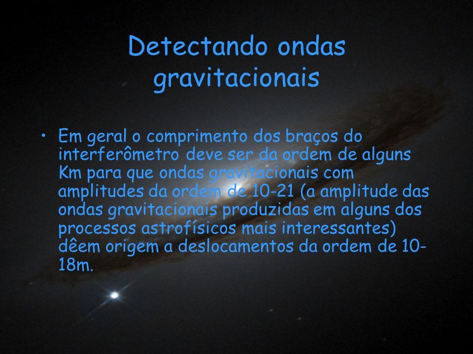 Detectando ondas gravitacionais